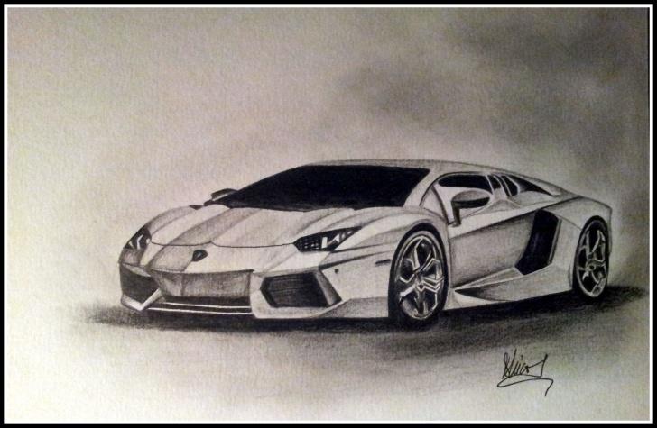 Inspiring Lamborghini Pencil Drawing Courses Lamborghini Aventador Pencil Drawing | Drawings In 2019 | Pencil Images