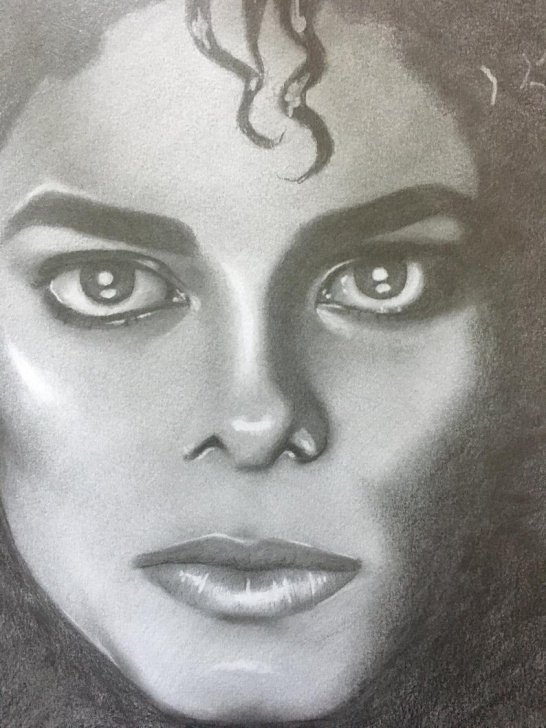 Inspiring Michael Jackson Pencil Sketch Tutorial Michael Jackson Thriller Era Graphite Pencil Drawing Photos