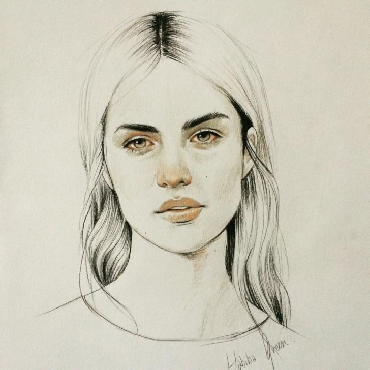 Inspiring Sad Portrait Drawing Step by Step Sad Girl | Art | Illustration Art Drawing, Illustration Art, Art Pictures