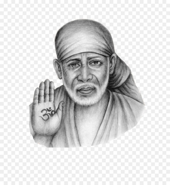 Inspiring Sai Baba Pencil Art Free Sai Baba Drawing Sketch And Shirdi Sai Baba Temple Sai Baba Of Picture