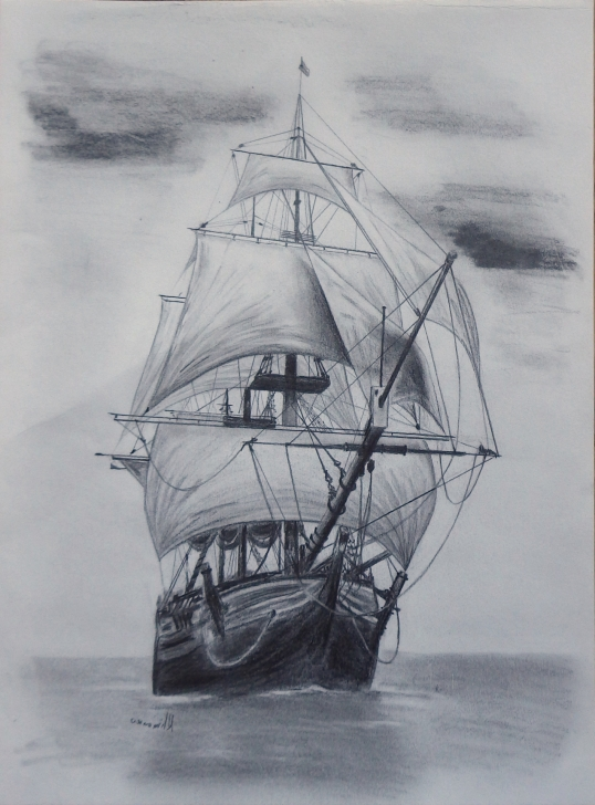 Inspiring Ship Pencil Sketch Courses Old Ship Sketch At Paintingvalley | Explore Collection Of Old Photos