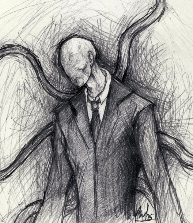 Inspiring Slender Man Drawings In Pencil Techniques for Beginners Slender Man By Buttsforcharity.deviantart | Creepypasta In 2019 Pictures