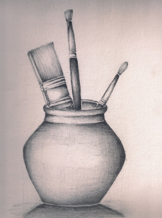 Inspiring Still Life Sketch Drawing Ideas Still Life Sketches At Paintingvalley | Explore Collection Of Picture