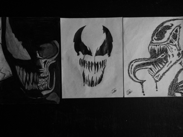Inspiring Venom Pencil Art Courses Venom Pencil Art By Mark Anthony Repolleza Photo