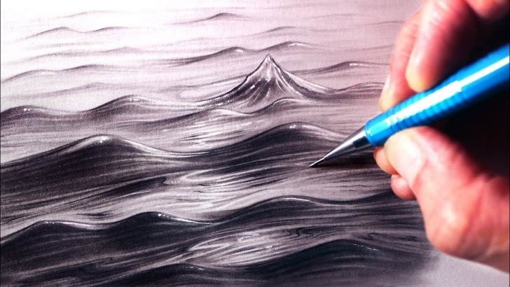 Inspiring Water Pencil Drawing Techniques How To Draw Water Photo