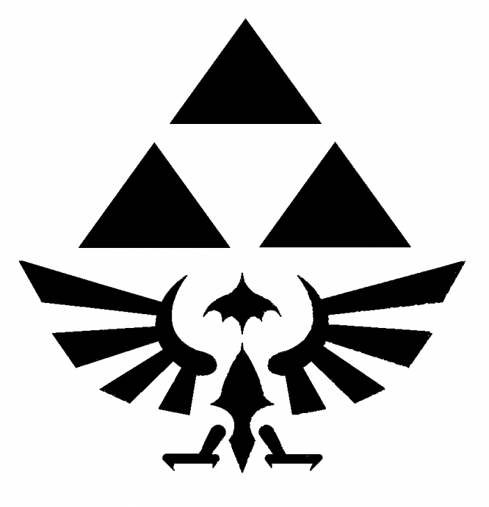 Inspiring Zelda Stencil Art Techniques Geeky Video Game Pumpkin Stencils And How To Carve Them   Halloween Pic