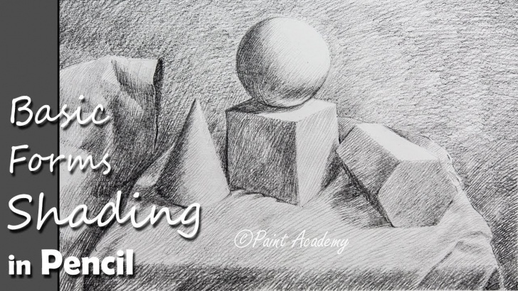 Interesting 3D Pencil Shading Techniques How To Shade Basic 3D Forms | Pencil Shading Techniques Pictures