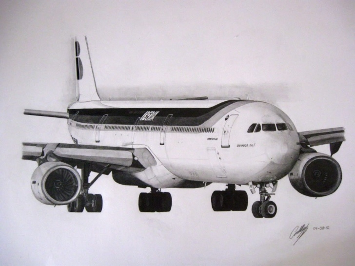 Interesting Aeroplane Pencil Drawing Ideas Free Airplane Drawing, Download Free Clip Art, Free Clip Art On Photo