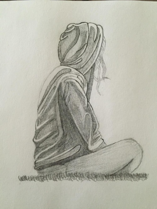 Interesting Alone Pencil Sketch Step by Step Download Drawings Loneliness Of Pencil () Drawing Images Image