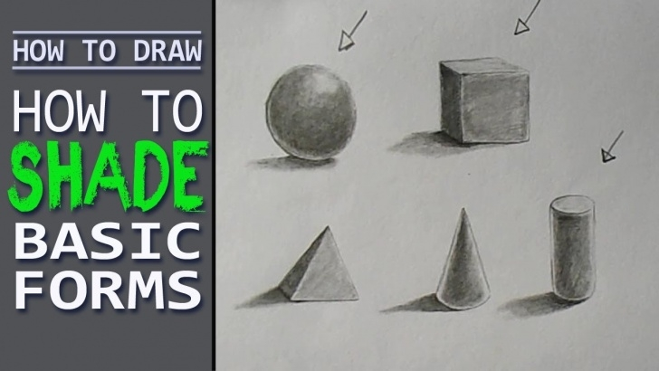 Interesting Basic Pencil Shading Lessons How To Shade Basic Forms 5 Method Pencil Tutorial, Basic Pencil Shading -  Art With Swapan Pictures