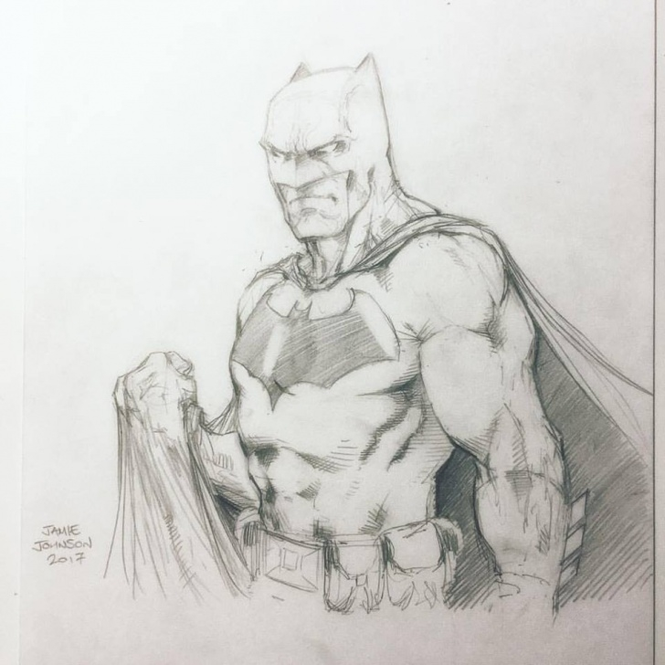 Interesting Batman Pencil Sketch Free Batman Pencil Sketch Photo
