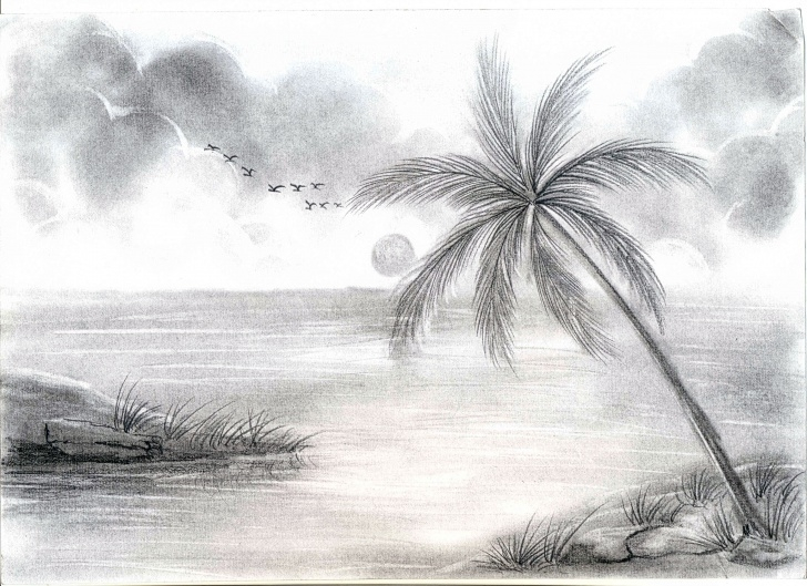 Interesting Best Pencil Sketches Of Nature Free Amazing Pencil Drawings Of Nature - Drawingsketch Picture