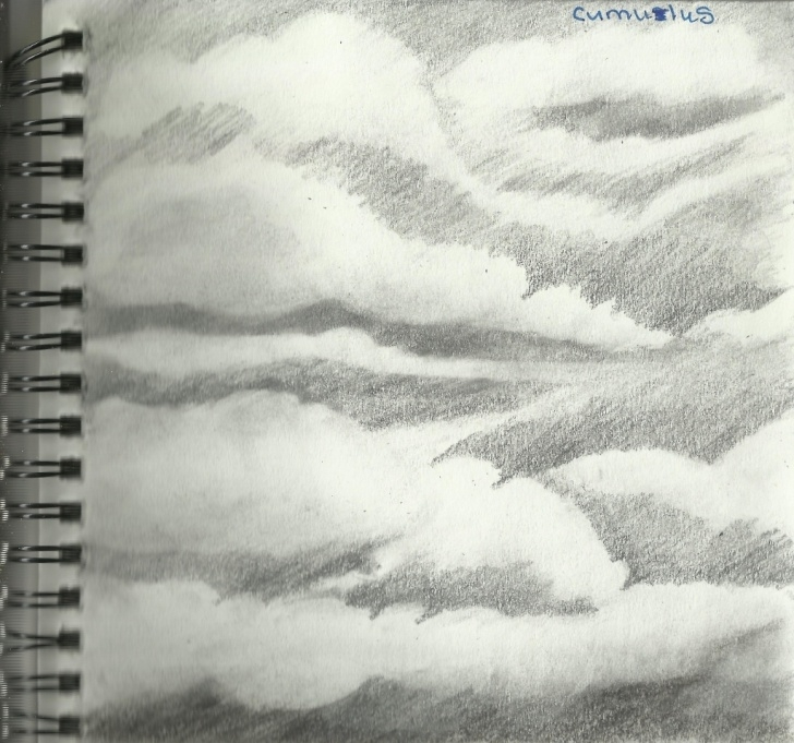 Interesting Cloud Pencil Drawing Techniques Cloud Pencil Sketch At Paintingvalley | Explore Collection Of Photo