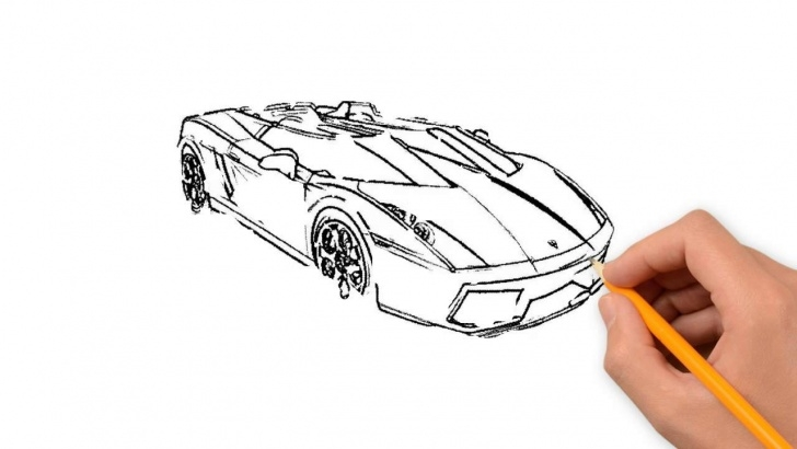 Interesting Cool Car Drawings In Pencil Techniques Cool Cars Transport Pencil To Draw Step By Step Photo