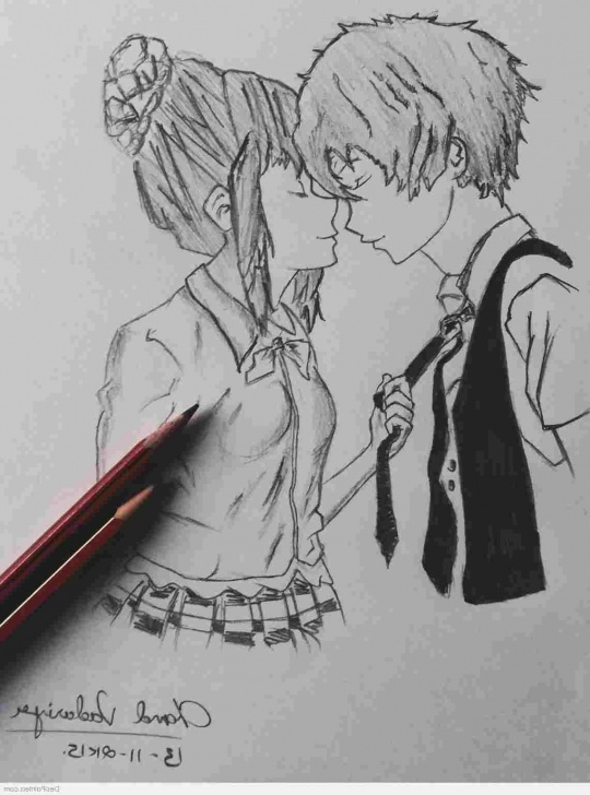 Interesting Cute Cartoon Couple Sketches Tutorials Pencil Sketches Of Cartoons Couple Picture