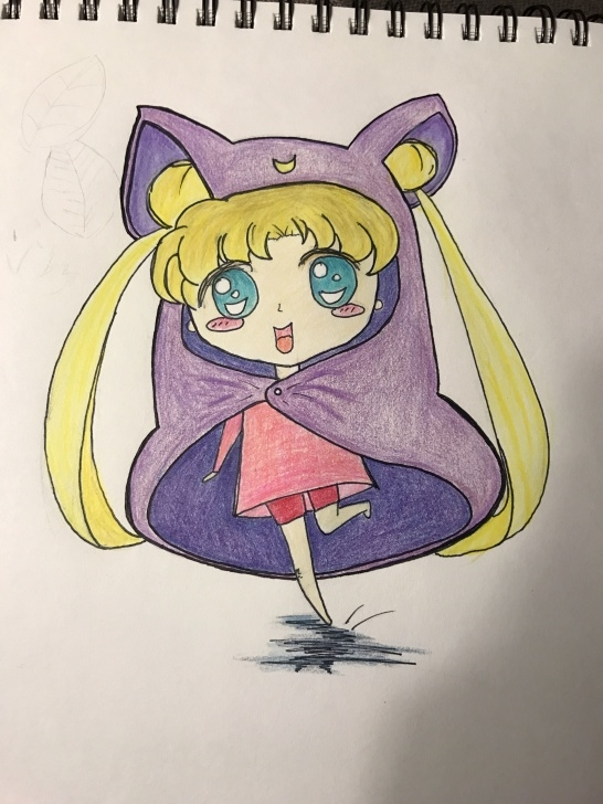 Interesting Cute Colored Pencil Drawings Lessons Japanese Cartoon Anime Color Pencil Drawing Cute | Doodles/drawings Pics