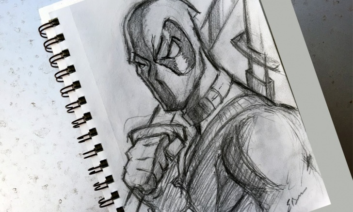 Interesting Deadpool Pencil Sketch Courses How To Sketch: Deadpool Photos