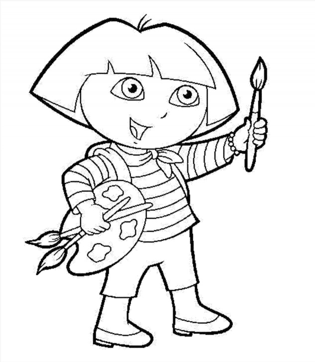 Interesting Dora Pencil Drawing Tutorial Advertising-Pillar-At-The-Corner-Of-My-Street-Bratelj Pic