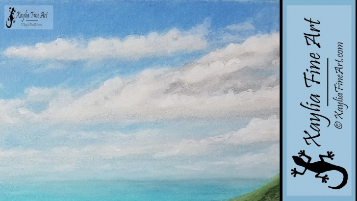 Interesting Drawing Clouds With Colored Pencils Courses Tutorial: How To Draw Puffy And Wispy Clouds In Coloured Pencils Photo