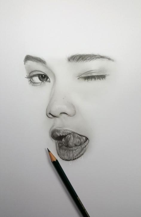Interesting Emmy Kalia Art Easy Emmy Kalia — Drawing A Minimalistic Face - Ashley Moore - With Photos