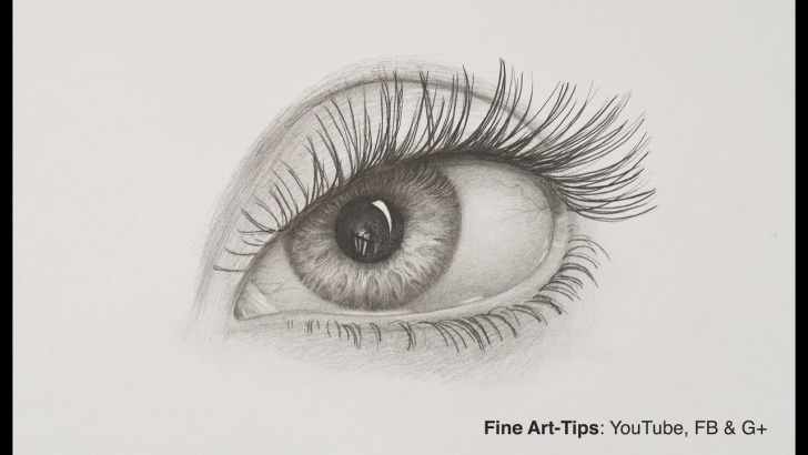 Interesting Eye Pencil Sketch Tutorial How To Draw An Eye With Pencil Images