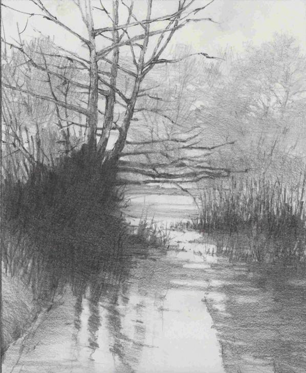 Interesting Graphite Landscape Drawings Simple Graphite Landscape Drawings And Graphite Pencil Drawing Landscape Image