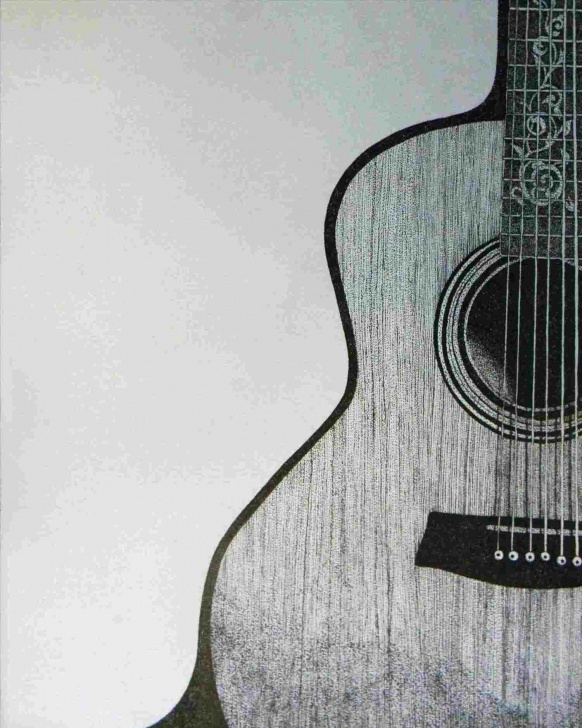Interesting Guitar Pencil Drawing Simple Sketch Easy Guitar Drawing Photos