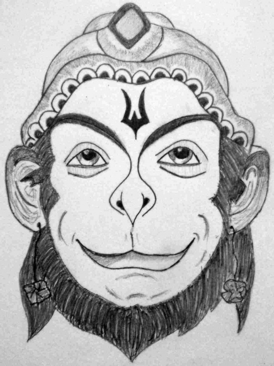 Interesting Hanuman Pencil Sketch Courses Pencil Sketch Drawings Sketchrhdrawingmartcom Paintings By Kavita Pics