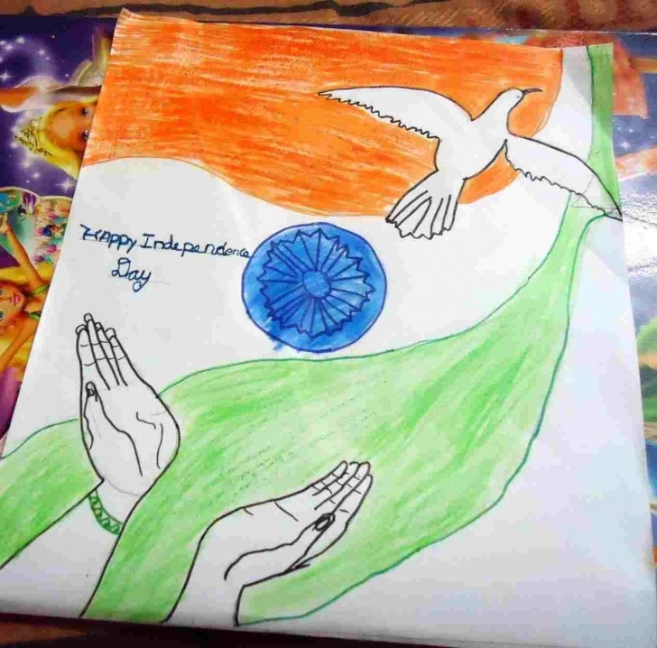 Interesting Independence Day Pencil Drawing Ideas Independence Day Drawing In School Pics