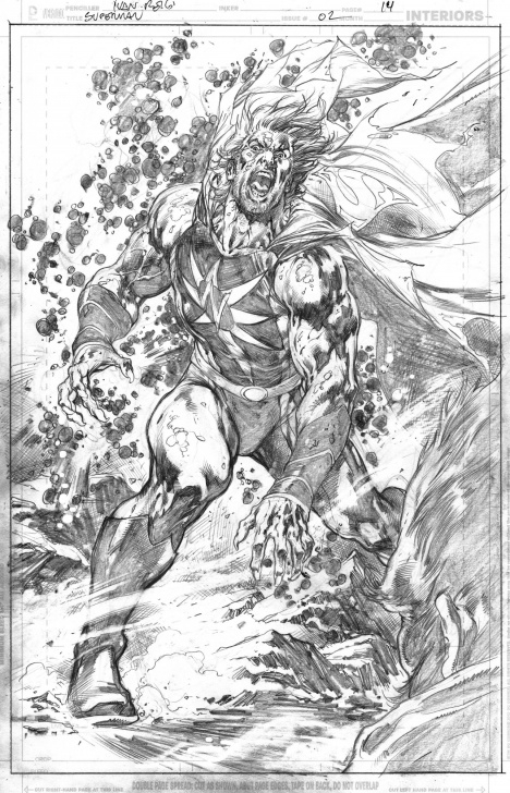 Interesting Ivan Reis Pencils Lessons Superman (2018) 2 Page 14 - Ivan Reis - Pencils Only, In Chiaroscuro Pic