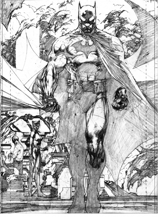 Jim Lee Pencil Art