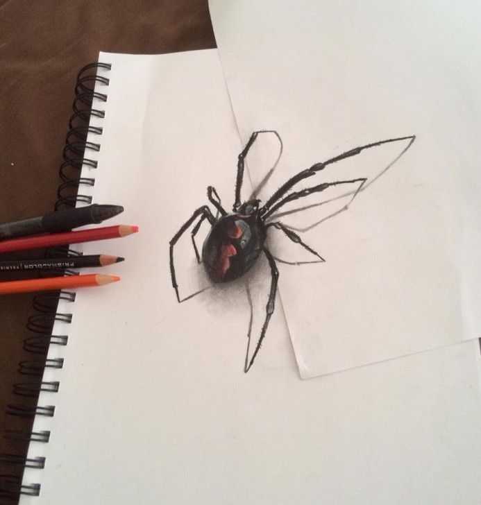 Interesting Mind Blowing 3D Pencil Drawings Tutorial 18 Mind Blowing 3D Pencil Drawings Images
