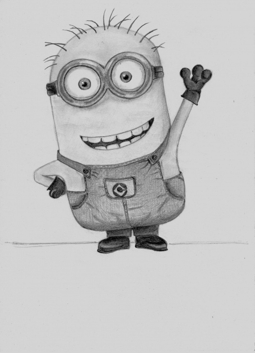 Interesting Minion Pencil Sketch Techniques Minion Tm - Mi Villano Favorito Tm - Universal | Kresba In 2019 Images