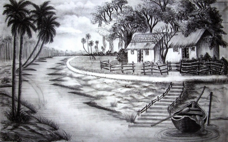 Interesting Nature Drawing Pencil Shading Lessons Shading Paintings Search Result At Paintingvalley Images
