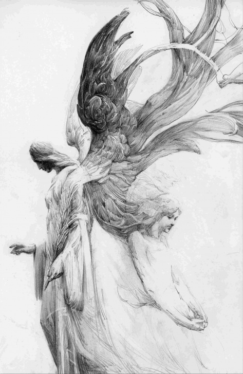 Interesting Pencil Drawing Fairies Techniques for Beginners Beautiful Fairy Drawings In Pencil Photo