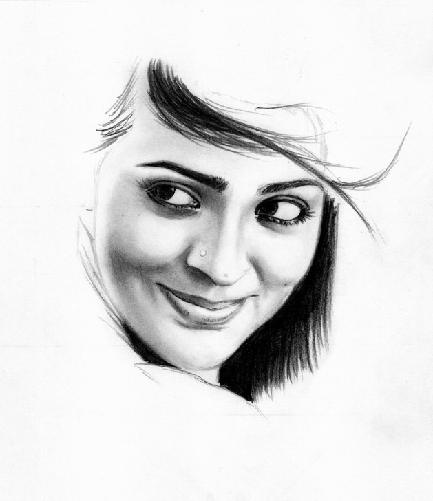 Interesting Pencil Shading Portrait Ideas Learn To Draw A Realistic Portrait With Pencil | Creative Gaga Pictures