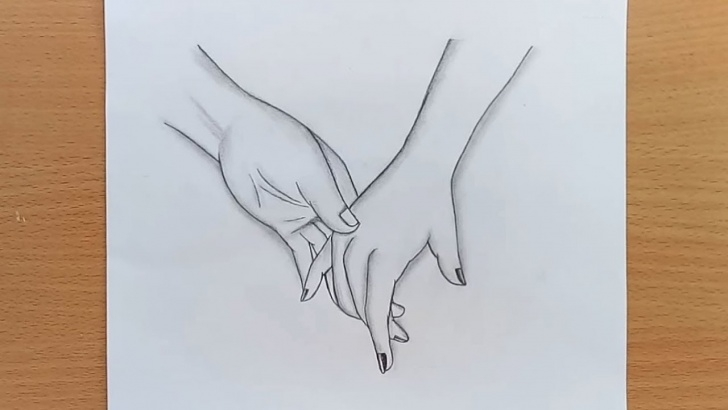 Interesting Pencil Sketches Of Couples Holding Hands Step by Step How To Draw Holding Hands/holding Hands Pencil Sketch Photos