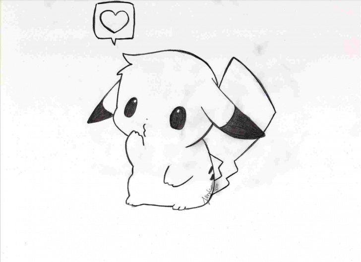 Interesting Pokemon Drawings In Pencil Easy Lessons Pikachu Drawing In Pencil Image