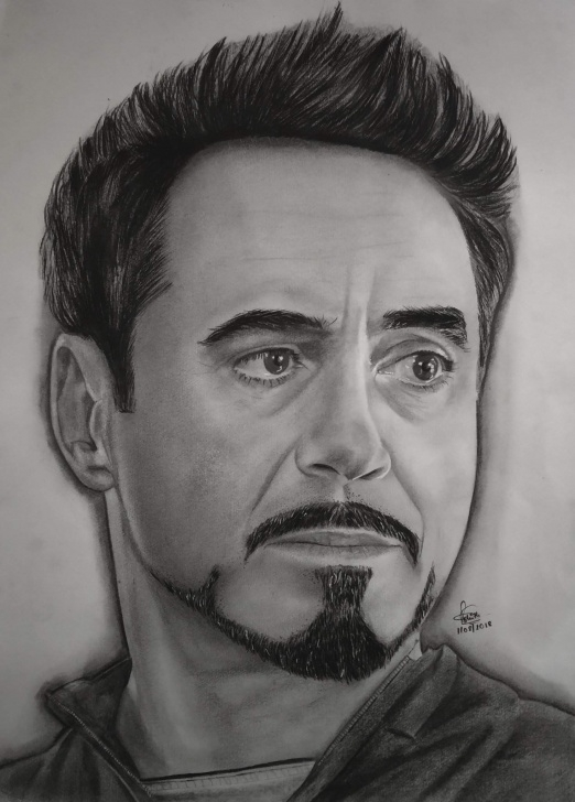 Interesting Robert Downey Jr Pencil Sketch Techniques for Beginners Pencil Portrait Of Robert Downey Jr | Arts And Ocs Amino Photo