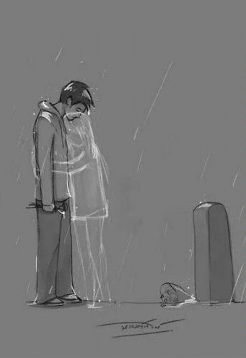 Interesting Sad Love Sketch for Beginners Image Result For Sad Love Drawing | Art | Sad Drawings, Sad Art Pic