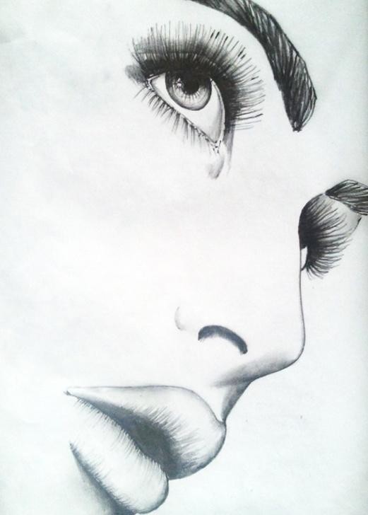 Interesting Sad Pencil Sketch Tutorials Sad Pencil Sketch At Paintingvalley | Explore Collection Of Sad Pictures