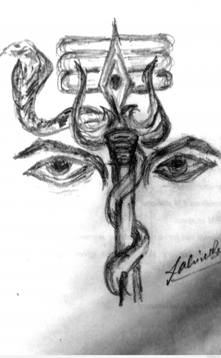 Interesting Shiva Pencil Art Ideas Brilliant Pencil Sketch Of Lord Shiva | Desipainters Photo