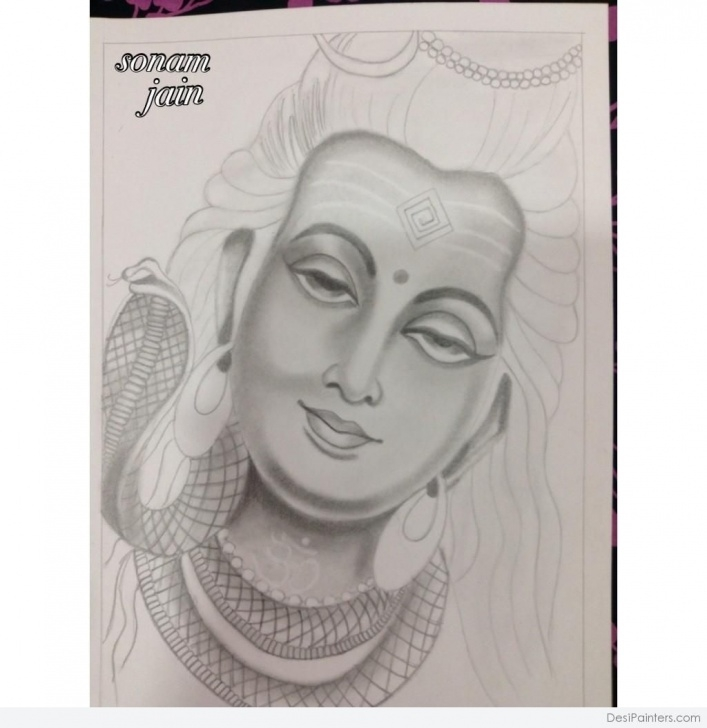 Interesting Shiva Pencil Art Ideas Lord Shiva Pencil Sketch | Sketch | Sketches, Pencil, Painting Image