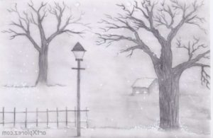 Interesting Simple Scenery Pencil Drawings for Beginners Easy Landscape Sketches Easy Pencil Sketches Of Landscapes For Pic