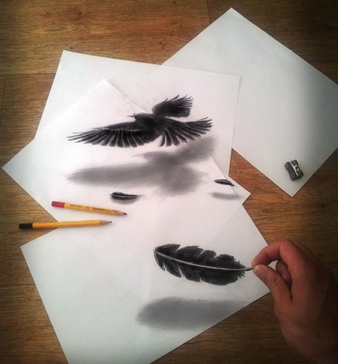Learn 3D Pencil Sketch Techniques 33 Of The Best 3D Pencil Drawings | Bored Panda Photos