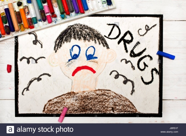 Learn Anti Drug Drawing for Beginners Drug Abuse Drawing Stock Photos & Drug Abuse Drawing Stock Images Pictures