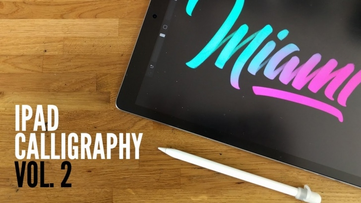 Learn Apple Pencil Calligraphy Courses Calligraphy On The Ipad Pro - Compilation #02 Images