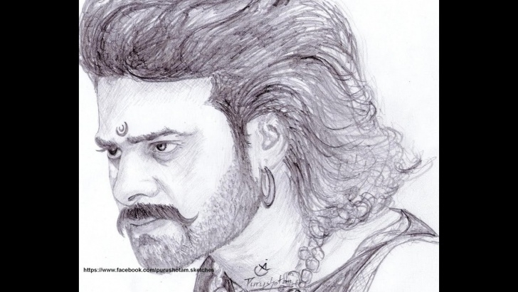Learn Bahubali Pencil Drawing Free Drawing Bahubali (Well, Trying To Draw ?) Photo