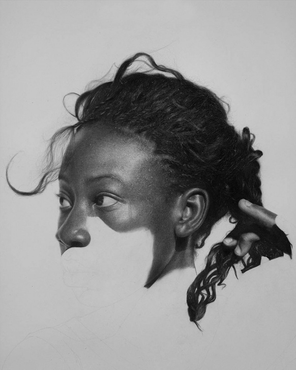 Learn Black Pencil Art Lessons Hyperrealistic Pencil Drawings By Nigerian Artist | Demilked Pic