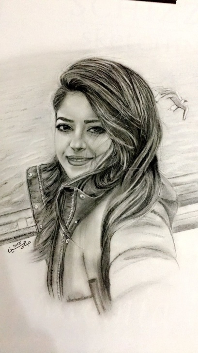 Learn Cool Portrait Drawings Tutorial Art #drawing #sketch #illustration #painting #portrait   Drawing In Picture